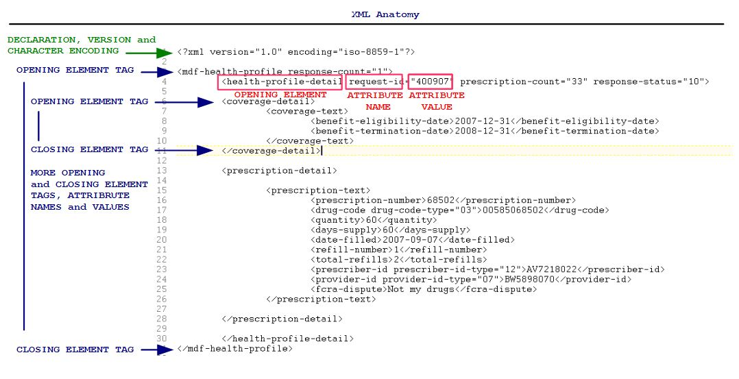 XML Anatomy | On Java Development